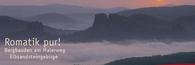 Romantik pur – Bergbauden am Malerweg
