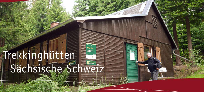 Trekkinghuetten Saechsische Schweiz