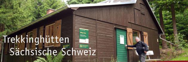 Trekkinghütten in der Sächsischen Schweiz