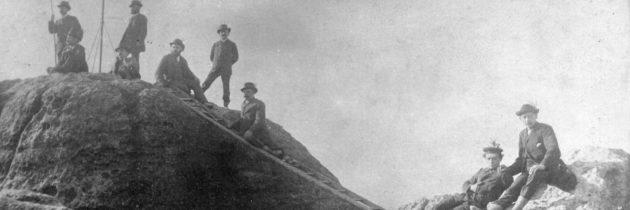Freeclimbing wurde in der Sächsischen Schweiz erfunden