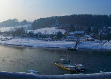 Aussicht vom Elbschlösschen © M. Becker/Hotel Elbschlösschen