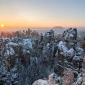 So viel Welt #Sächsische Schweiz - Winter-Auszeit