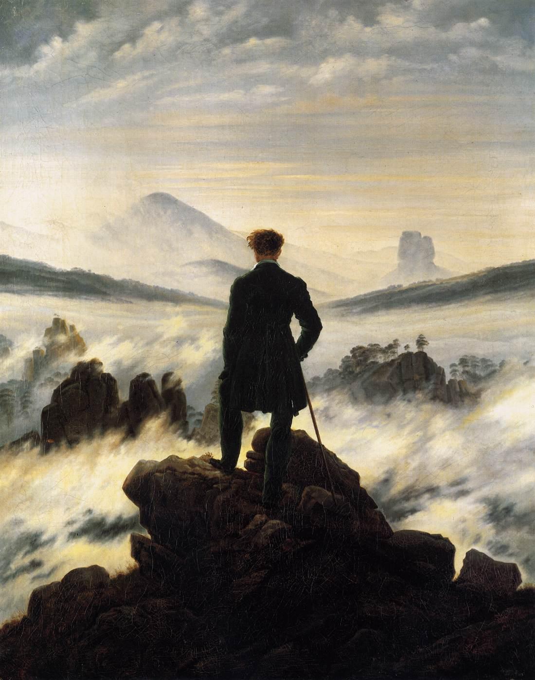 Caspar_David_Friedrich_-_Der_Wanderer_über_dem_Nebelmeer (c) wikipedia