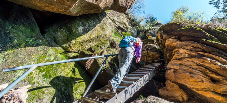 Treppenaufstieg ©Achim Meurer