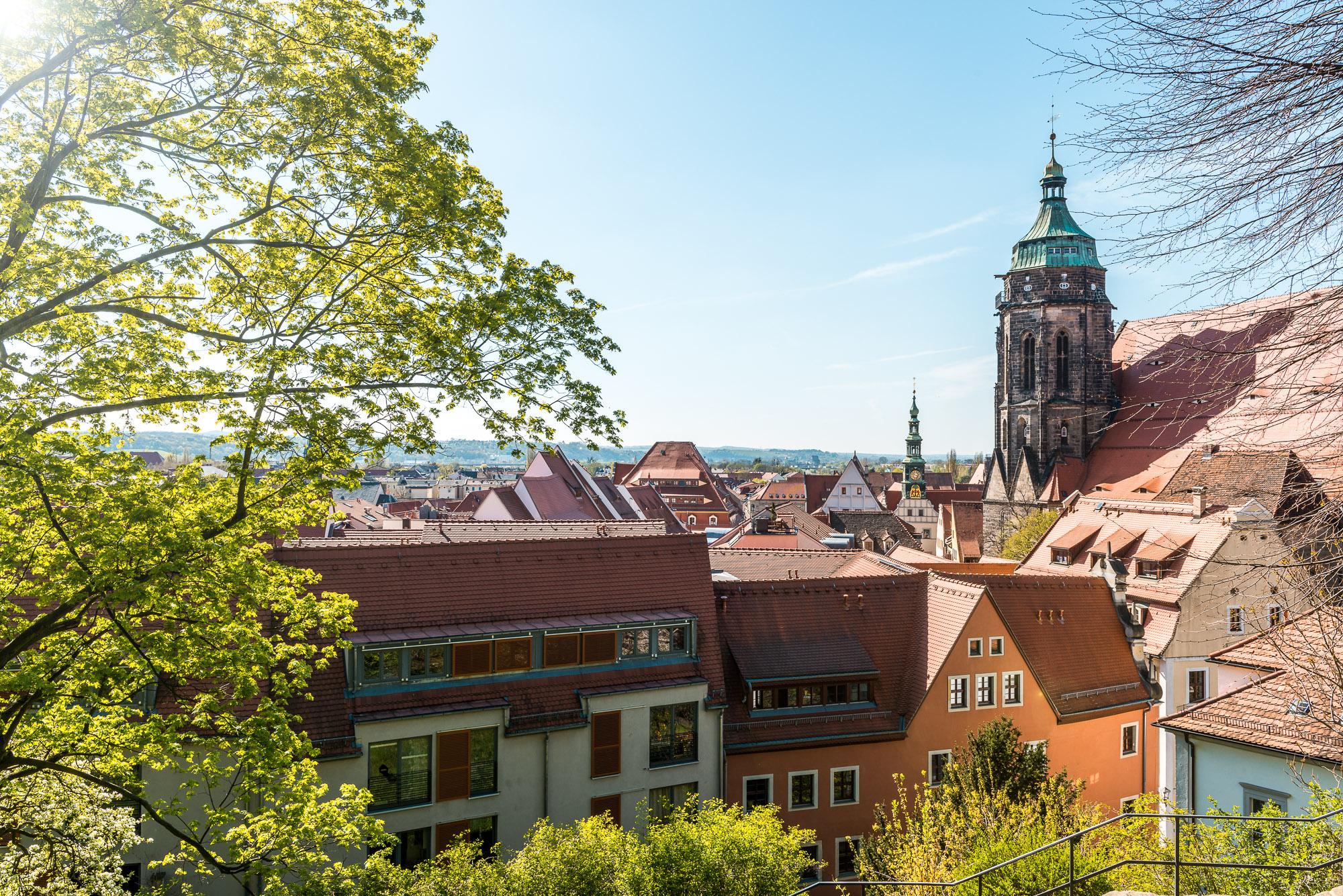 Blick auf Pirna ©Achim Meurer