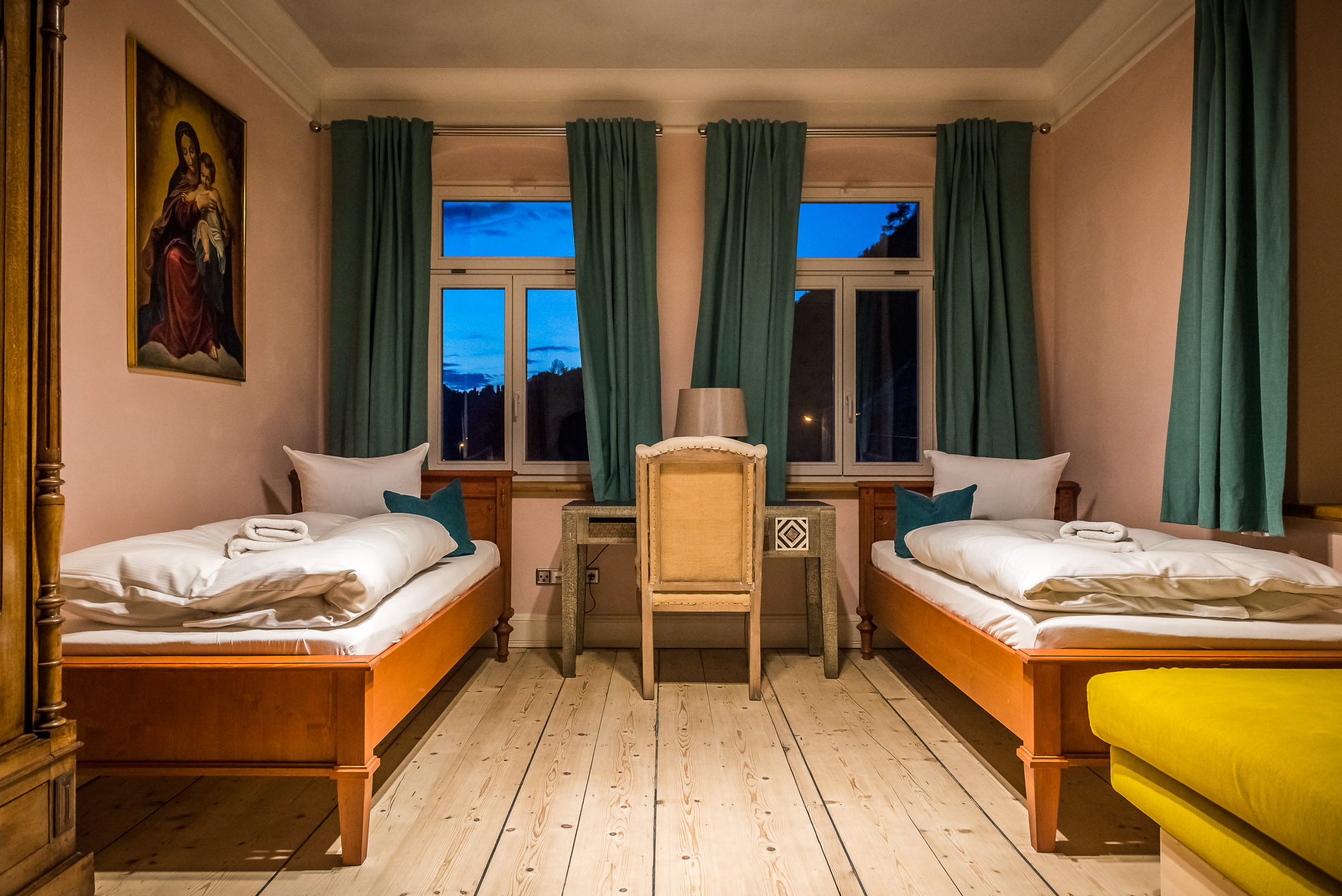 Villa Thusnelda Zimmereinrichtung ©Achim Meurer