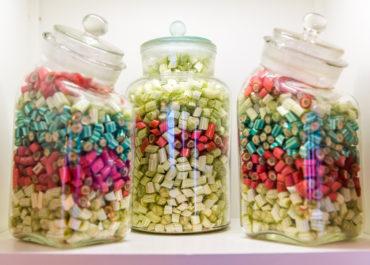 Bonbon-Gläser ©Achim Meurer
