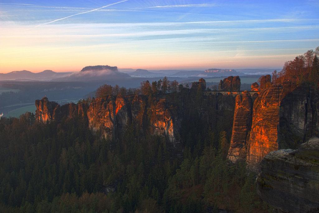 Der Frühe Vogel Elbsandsteingebirge Sächsische Schweiz