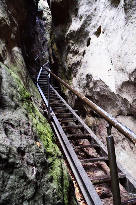 Treppen Hockstein