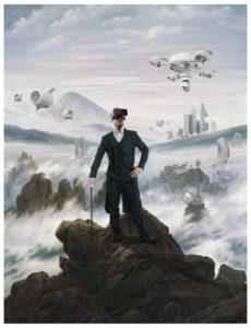 Kunstwettbewerb Caspar David Friedrich (c) Andreas Twardzik