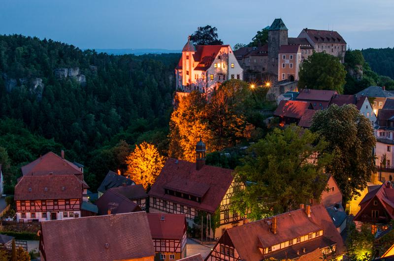 Hohnstein mit Burg (c) Rico Richter