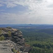 Wanderbericht zum Nachwandern: <i>Dolní Žleb - Gelobtbachfall - Großer Zschirnstein - Dolní Žleb</i>
