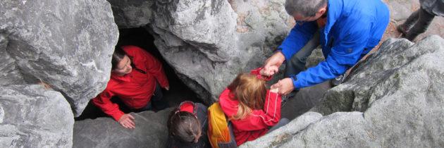 Wanderung zu den Kleinhennersdorfer Höhlen