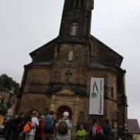 Treffpunkt Radfahrer Kirche Stadt Wehlen