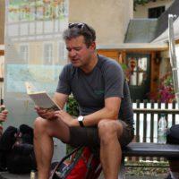 Manuel Andrack liest episoden aus seinem Wanderbuch