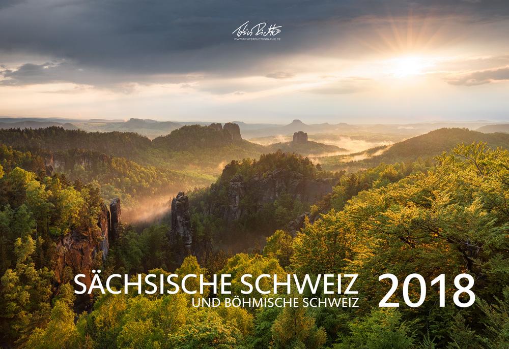 Foto-Kalender: Sächsische & Böhmische Schweiz das ganze Jahr