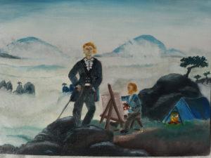 Kunstwettbewerb Caspar David Friedrich (c) Johanna Nehmitz