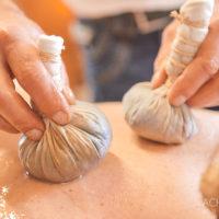 Massage in der Naturheilpraxis im Biohotel Helvetia in Schmilka