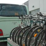 Bergauf im Fahrradbus