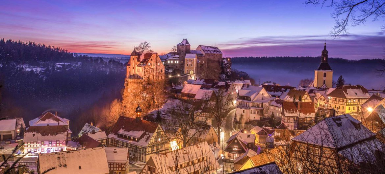 Hohnstein im Winter_S_Rose
