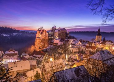 Hohnstein im Winter_S_Rose