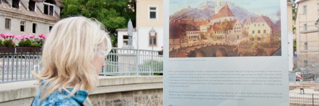 Malerweg Elbsandsteingebirge erhält kunsthistorische Schautafeln