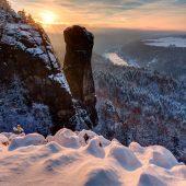 Beste Reisezeit Sächsische Schweiz: Februar