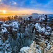 Die Sächsische Schweiz ist auch im Winter eine Reise wert