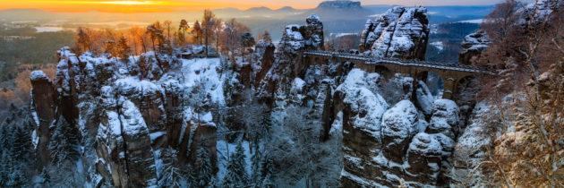 Winter im Elbsandsteingebirge? Ein Traum!