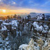 Wintersterne Sächsische Schweiz