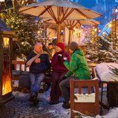 Winterdorf: Das Biodorf Schmilka in der kalten Jahreszeit