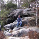 Gipfelrast auf dem Großen Bärenstein