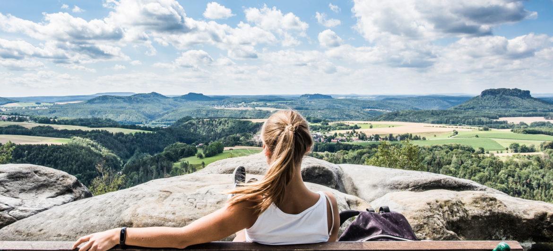Gute Aussichten in der Sächsischen Schweiz