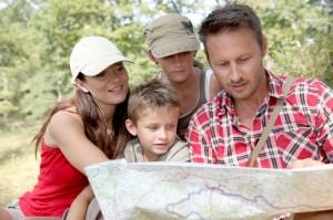 Wandern in Familie