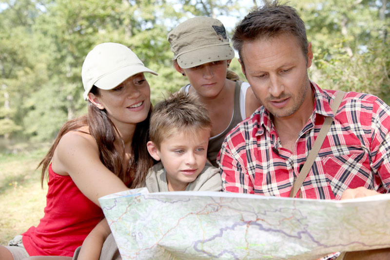 Wanderurlaub mit Kindern - Elbsandsteingebirge ...