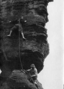 Bergsteiger stellt Rucksackdieb - (c)Werner Rump **