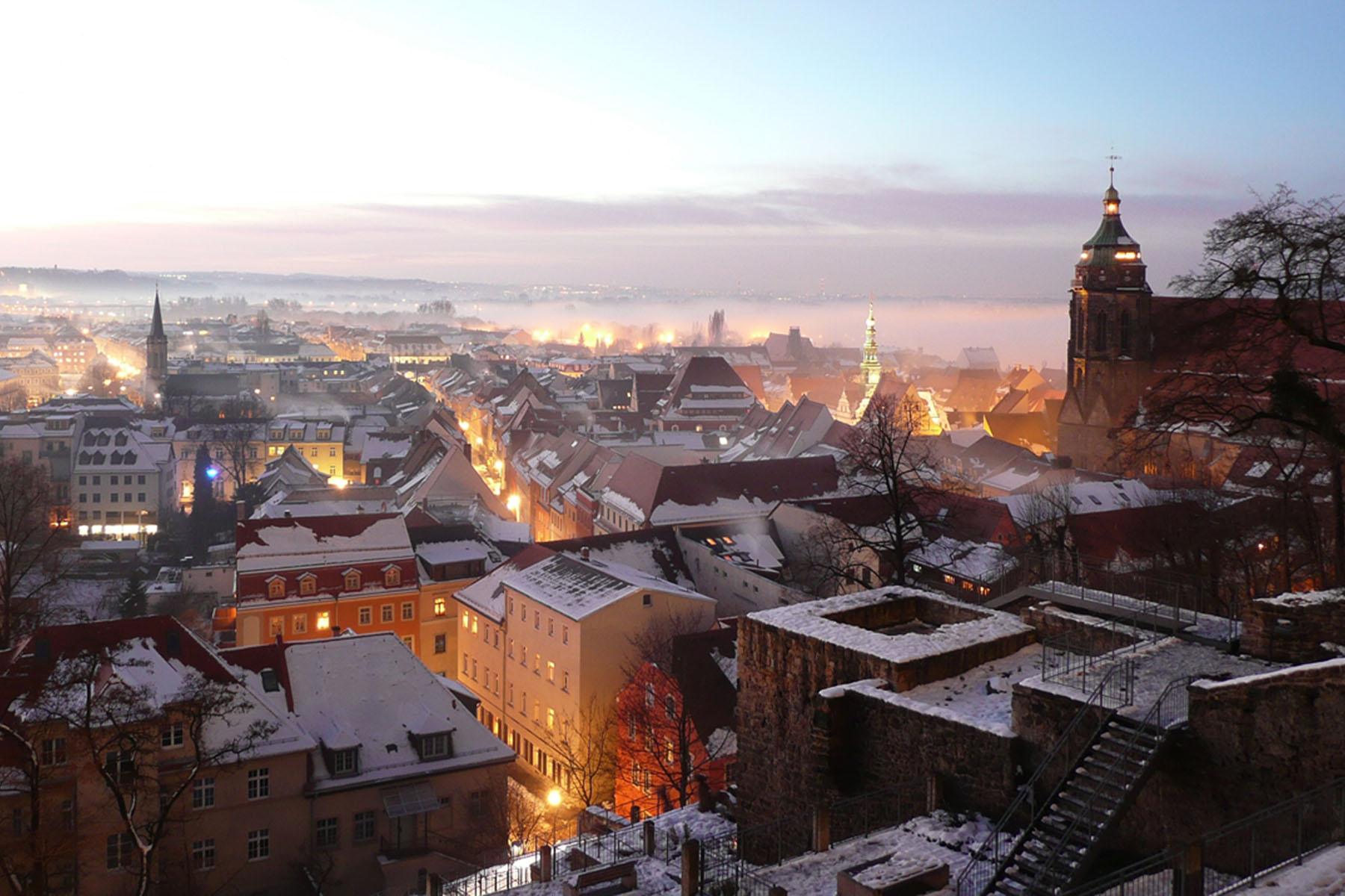 <strong>Pirna</strong> <i>– Sandstein voller Leben auch im Winter!</i>