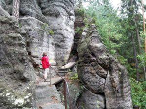 Felsenpfad von Khaa