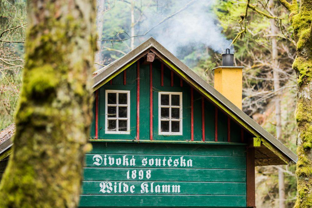 Kassenhäusschen Wild Gorge (c) ThielPR, Sebastian Thiel
