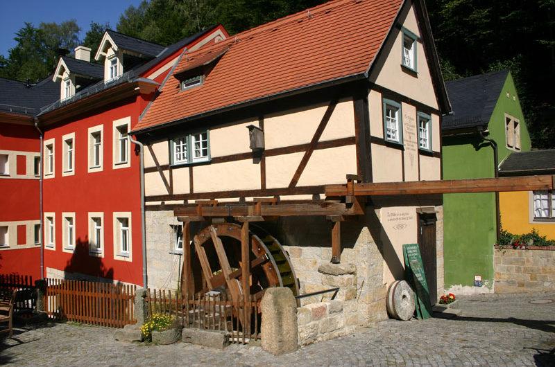 Wassermühle in Schmilka