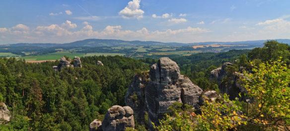 Boofen im Elbsandsteingebirge