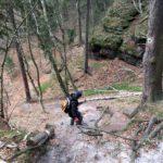 Abstieg zum Tümpelgrund