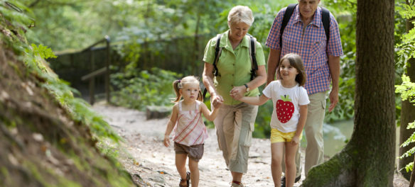 Mit Kindern in der Sächsischen Schweiz (c) M