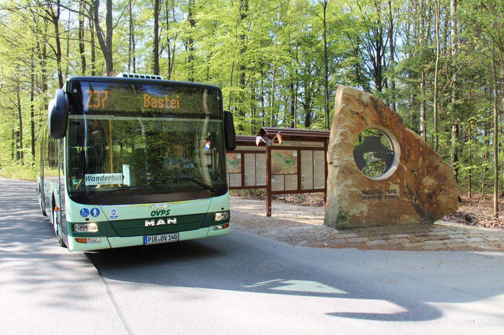 Wanderbus Sächsische Schweiz (c) Solveig Großer
